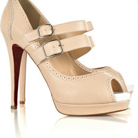 Christian Louboutin Luly 140 leather sandals - $201.00