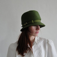Glamour Felts  Vintage Bucket Hat by VeraVague on Etsy