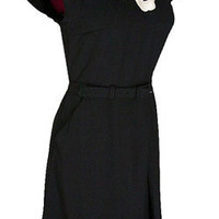 New Rockabilly Retro 40s 50s Style Pinup Black Noir Lace Dress Medium