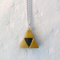 Legend Of Zelda Triforce Necklace :D