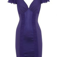 Bqueen Lingerie Dress In Purple K326P