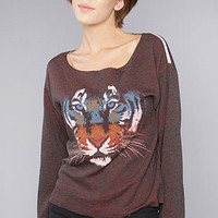 The Tiger Boyfriend Pullover by Rebel Yell 