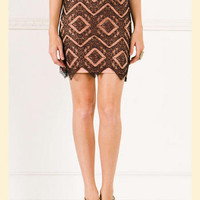 All Agreed Lace Skirt