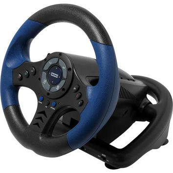 HORI - Racing Wheel for PlayStation 4 and PlayStation 3 - Black