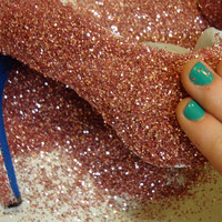 DIY: Glitter Shoes |