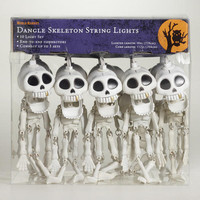 Dangling Skeletons Halloween String Lights | World Market