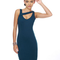 Heroine Navy Blue Dress