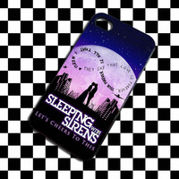 Sleeping With Sirens Infinity Quote Design iPhone Case and Samsung Galaxy Case