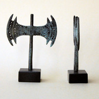 Bronze Double Headed  Axe - Minoan Cretan