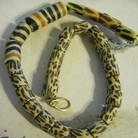 Leopard Print Beads