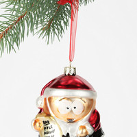 Cartman Blown Glass Ornament
