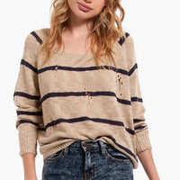 College Ruled Sweater $40