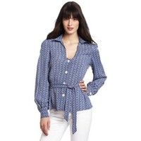 WHAT GOES AROUND COMES AROUND Women`s Heloise Top $178.00