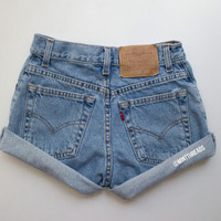 "ALL SIZES Vintage ""HERCULES"" Levis Lee High Waisted Denim Shorts"