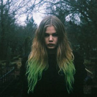 Envy GREEN DIP DYE Hair Extensions // (2) Pieces // Clip In