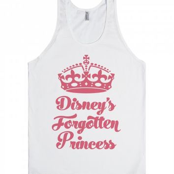 Forgotten Princess-Unisex White Tank
