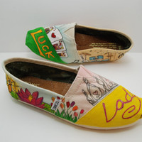Your Personality on Custom TOMs Shoes by KellismCo on Etsy