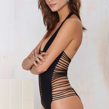 Nasty Gal Up to No Good Swimsuit