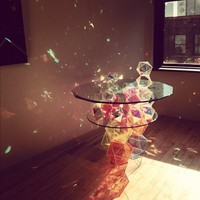 Sparkle Palace Cocktail Table by John Foster