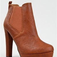 Qupid THEATRE-02 Leatherette Platform Ankle Bootie | Shop Qupid Shoes