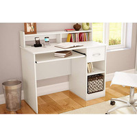 Walmart: South Shore Smart Basics Small Desk, Pure White