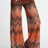 Throwback Chevron Bell-Bottoms - $52.00: ThreadSence, Women&#x27;s Indie &amp; Bohemian Clothing, Dresses, &amp; Accessories