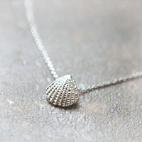 Scallop Seashell Necklace