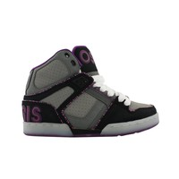 Womens Osiris NYC 83 Ultra Skate Shoe, GreyBlackPurple  Journeys Shoes