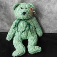Beanie Bear Shamrock from KnotJustKnots