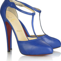 Christian Louboutin Catwoman T-bar shoes - &amp;#36;179.00