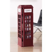 SEI Phone Booth Cabinet: Home & Garden