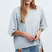 Cheap Monday Want Melange Sweatshirt in Light Grey - Urban Outfitters