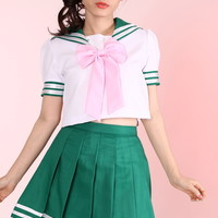 Glitters For Dinner — Ready To Post - Sailor Jupiter Inspired 2 Piece Set