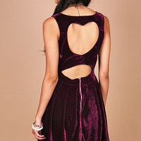 Velveteen Love Dress | Cute Dresses at Pink Ice
