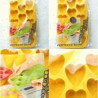 Cute Japanese Ice Cube Tray Heart