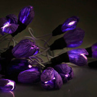 Every Flower is Illuminated Light Set in Violet | Mod Retro Vintage Electronics | ModCloth.com