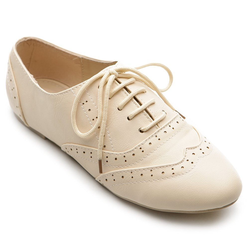 Unique NEW Womens Lace UP Hugo Woven LOW Chunky Heel Dress Oxfords  EBay