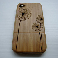 Pre-order Iphone 5 bamboo cases - with one of our engraving designs