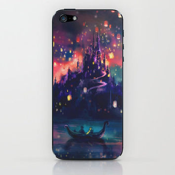 The Lights iPhone & iPod Skin by Alice X. Zhang | Society6