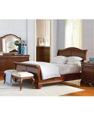 Bordeaux Louis Philippe Style Bedroom From Macy 39 S The House