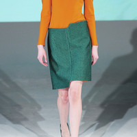 Chalayan | Step cutout woven mini skirt | NET-A-PORTER.COM