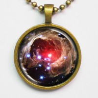 Galaxy Photo Necklace - Variable St.. on Luulla