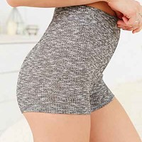 Out From Under High-Waisted Tap Short- Grey