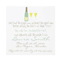 Bachelorette Party Invitation from Zazzle.com
