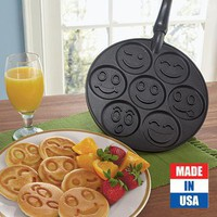 Smiley Face Pancake Pan @ Fresh Finds