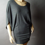 MINIMALIST Dolman Slv Sweater Knit Top Shirt Tunic L | eBay