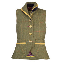 BEVERLEY - Womens Tweed Gilet in Gilets at the Joules Clothing