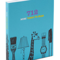 712 More Things to Draw | Mod Retro Vintage Books | ModCloth.com