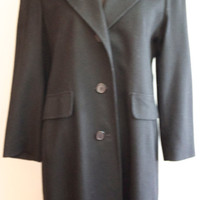 Evan Picone Black Petite Winter Coat
