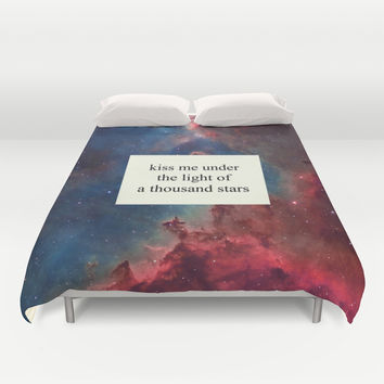 a thousand stars Duvet Cover by Tangerine-Tane